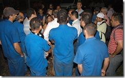 oficial de justiça tenta cumprir ordem de reintegração de posse em Osasco