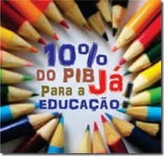 10% PIB para educação