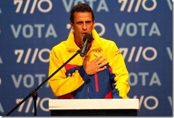 capriles derrota