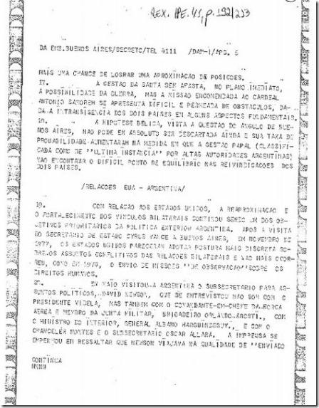Cartas de Geisel a Videla mostram elos da Operação Condor