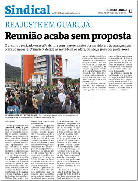 greve_professores Guaruj_