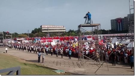 1 de maio em Cuba
