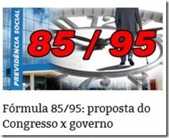Fórmula 85 95 Aposentádoria